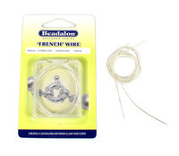 french wire (Bouillon-Draht), versilbert, 0,6 mm